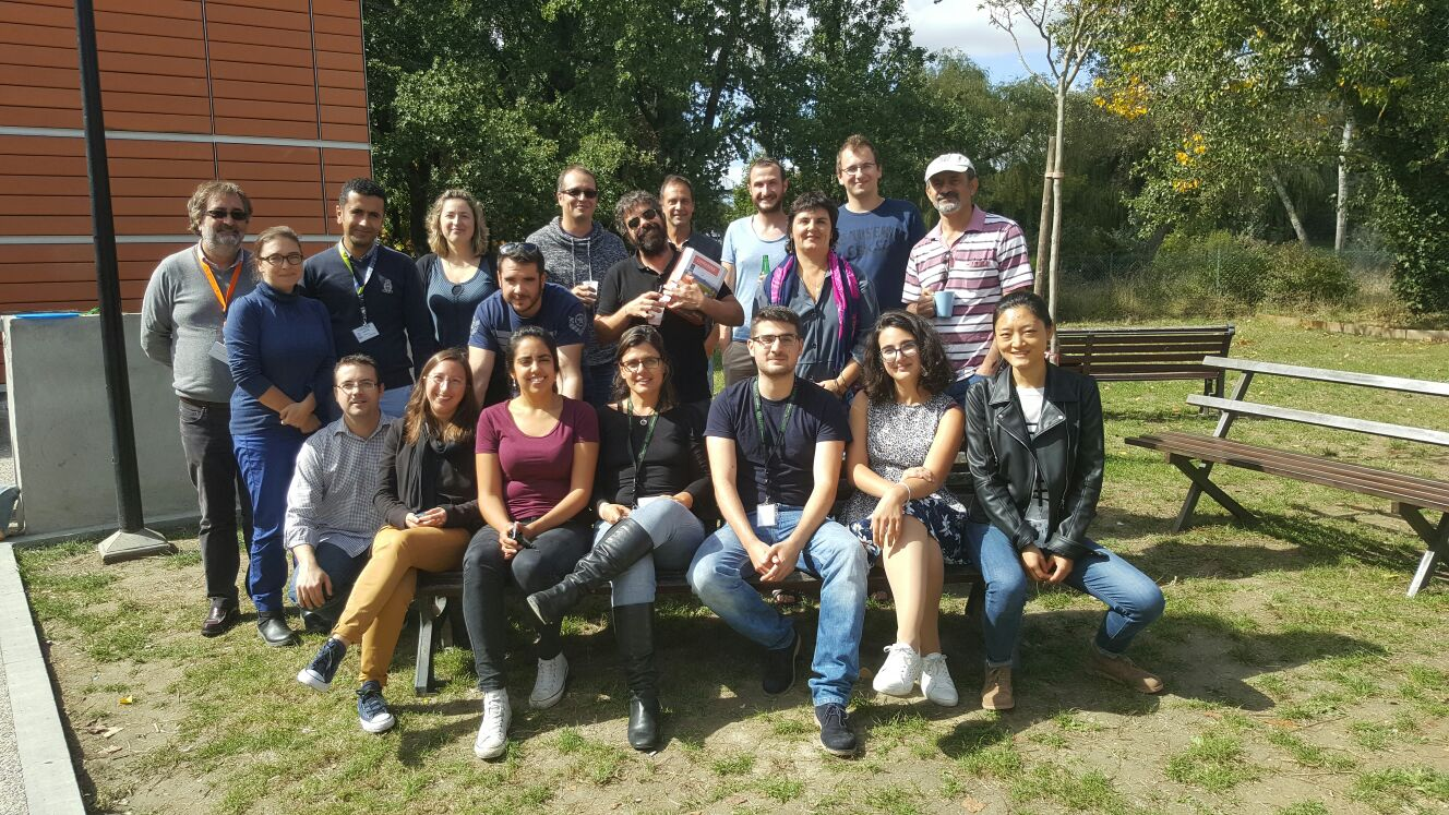 CNRS training course group photo